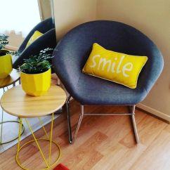 Steel Chair Accessories Kids Patio Kmart Homewares Grey With Metal Legs Sunny