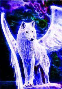 Blue Lightning Wolf | www.pixshark.com - Images Galleries ...