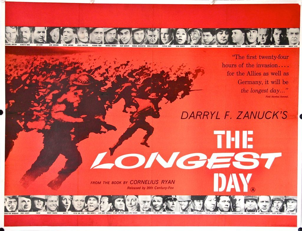 Image result for longest day film poster