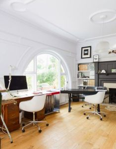 Check out these beautiful office design ideas that will help you work from home in style also le bureau de mes reves co deco pinterest celine rh