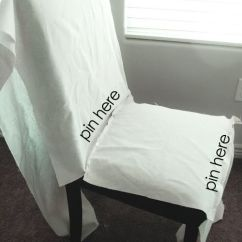 Grey Parson Chair Covers Yellow Slipper Ruthie Be Maude: Diy Stenciled Slipcovers... | Dom I Ogród Pinterest ...