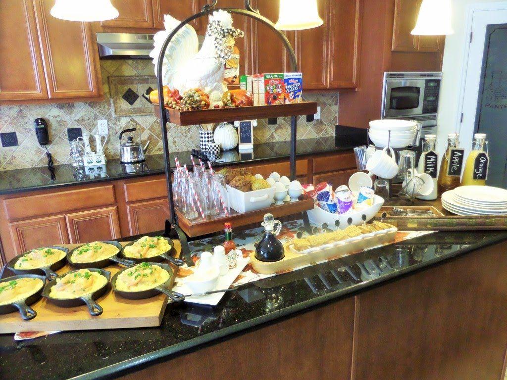 A Cozy Fall Breakfast Breakfast Buffet Pinterest Fall