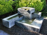 Kingbird Design LLC Concrete Fountain | design landscape ...
