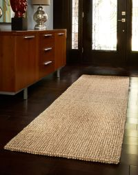 nice brown Striped Runner Rug Entryway Hallway Home decor ...