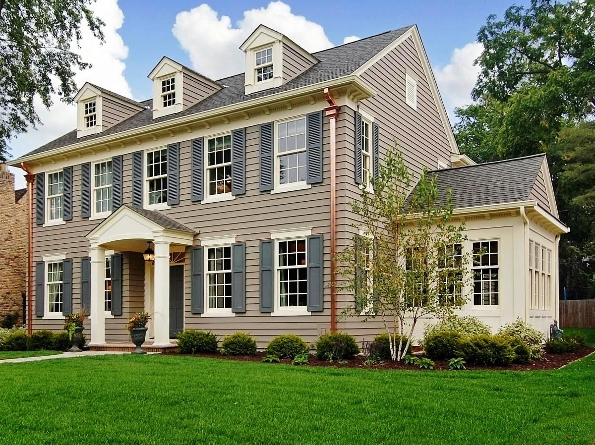 Interactive Exterior Color Schemes New Roof And Shutters