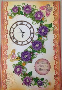 Paper Quilling Wall Clocks   Paper Quilling   Pinterest ...
