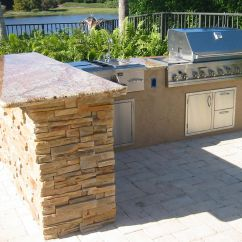 Outdoor Kitchen Design Plans Free Linen Curtains Grill Islands Custom In Florida