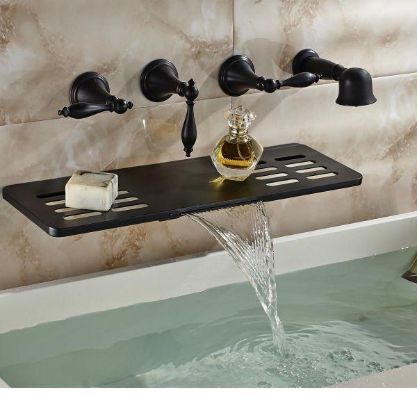 Retail Wall Mounted Bathroom Tub Faucet Oil