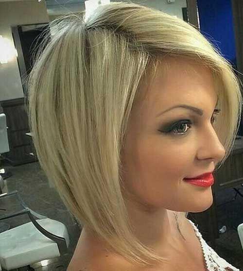 Short Blonde Bob Hair Styles Pinterest Haarschnitte Und Frisur