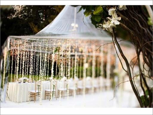 inexpensive outdoor weddings  Uncategorized Cute Idea To Decorate A Tent For An Outside