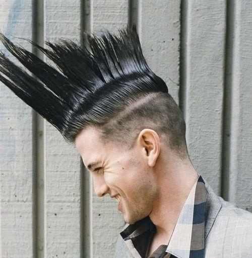 Crazy Funky Mohawk Hair For Men HAIR STYLES Pinterest Mohawk