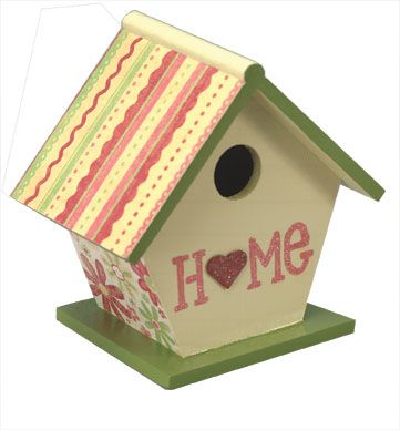 Home For The Birds Birdhouse Accent Pieces And Cozy