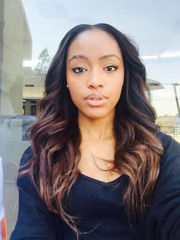 South African Beauty Kamo With Gorgeous Hair Extensions #weave