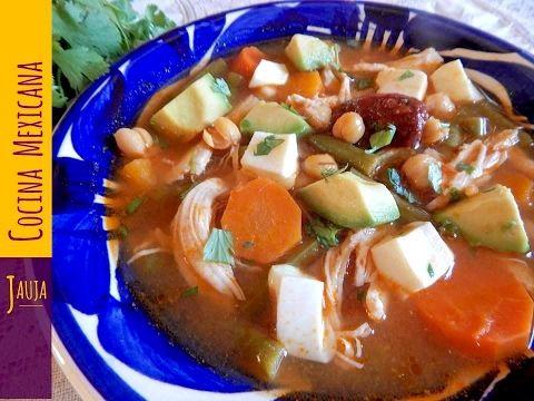 Caldo Tlalpeo Caldo Tlalpeo de Jauja Cocina Mexicana