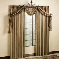 Ombre Semi-Sheer Scarf Valance and Window Treatments ...