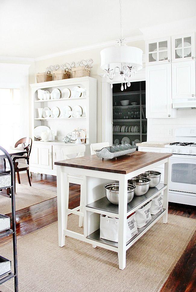 Best 25 Free Standing Kitchen Island Ideas On Pinterest