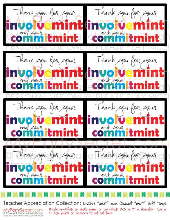 photo relating to Thank You for Your Commit Mint Printable identified as √ thank yourself for your devote mint printable