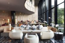 Lobby Crowne Plaza - Singapore Changi