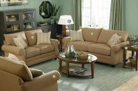 green living room walls taupe sofa | apple green wall ...
