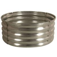 30 in. Galvanized Round Fire Pit Ring-DS-18727 at The Home ...
