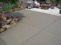 cement patio finishes | broom finish patio addition veneta ...