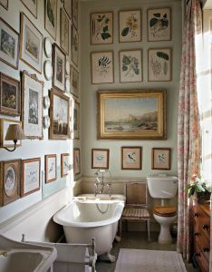 English country interior design decorating ideas for the bathroom save water  money also rh pinterest