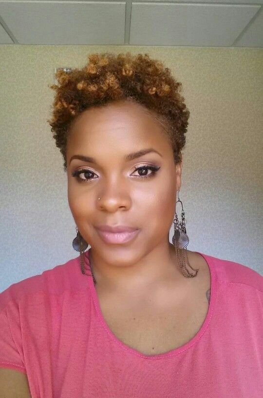 TAPERED NATURAL HAIR STYLES On Pinterest Tapered Twa