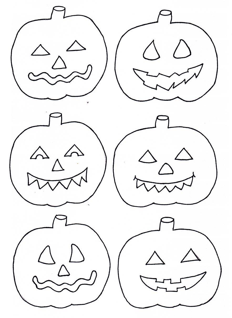 Basteln zu Halloween Xobbu Malvorlage #halloween #kürbis #