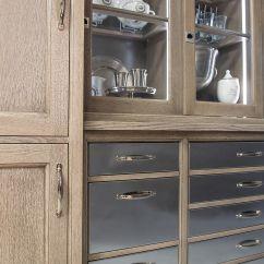Wood Mode Kitchen Cabinets Small Lamps For Counters Yardley Closeup Photo Rift Cut White Oak