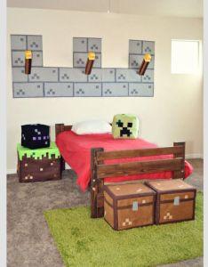 Minecraft bedroom also best images about gamerzone on pinterest survival rh