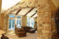 Weather Ledge Stone Interior Wall Arch - Natural Blend ...