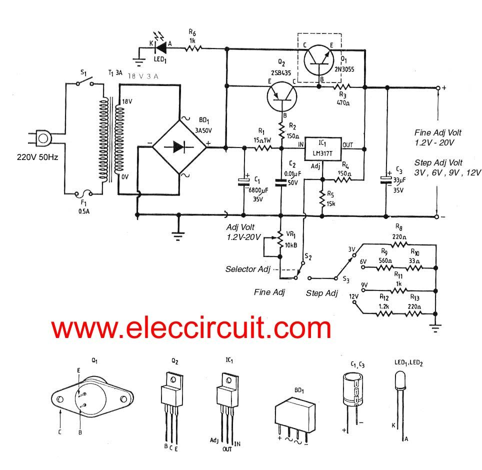 0 300v variable high voltage power supply