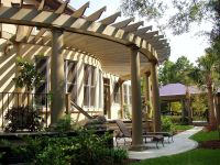 Curved pergola... With a curved porch ;) | Dream home ...
