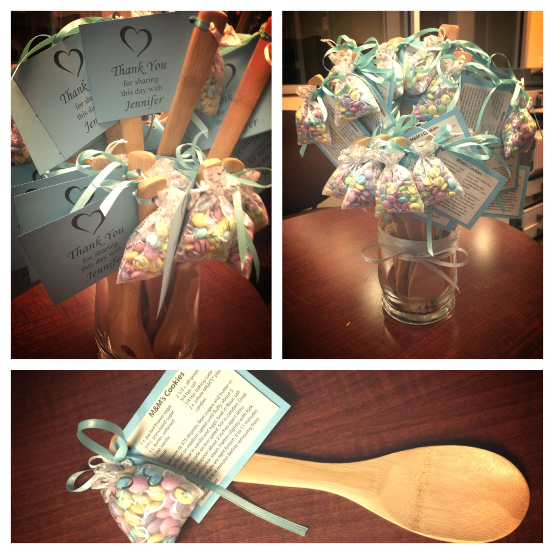 kitchen themed bridal shower small remodel cost favors for quotcooking theme quot wooden spoons