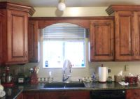 Wood Valance Over Kitchen Sink | For the house | Pinterest ...