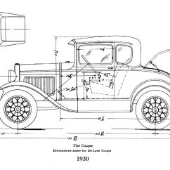 Model A Ford Wiring Diagram Kenworth W900 Headlight Parts Auto Catalog And