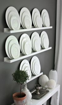 Dining Room Plate Wall Decor