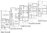 Luxury Townhouse Plans With Luxury Townhouse Floor Plans ...