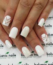 white nail art ideas