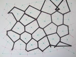 HandDrawn Voronoi Diagrams | Voronoi diagram, Parametric