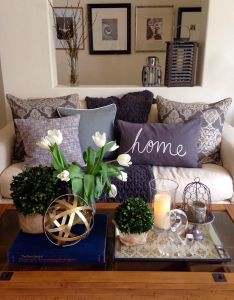 Mar ladies spring home tour joan   decor accessoriesliving also house living rooms rh pinterest