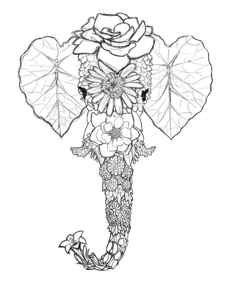 drawing-tumblr-art-tumblr-drawing-elephant-kids-drawing
