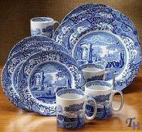 spode blue italian dinnerware - Google Search   Blue ...