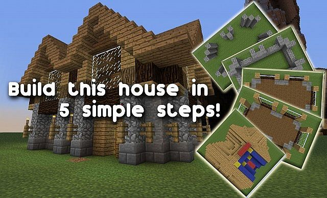 Minecraft Houses Step By Step Pictures Google Search Minecraft