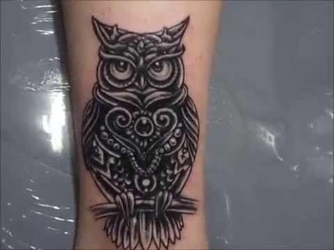 Owl Tattoo CoverUp idea  Tat CoverUp Ideas  Pinterest