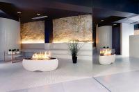 Bioethanol fireplace / free-standing / original design ...