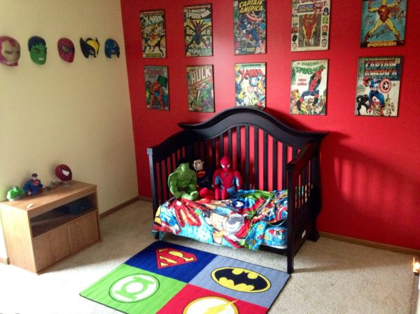 Super Hero Boy Room Ideas