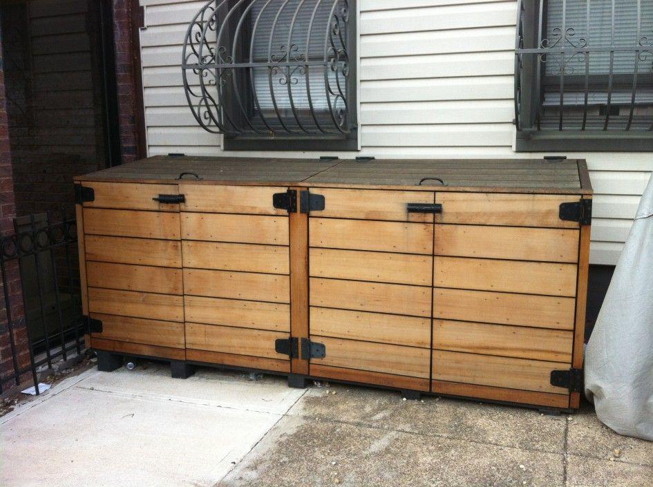 Outdoor Storage Cabinets with Doors