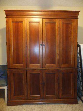 Hooker Furniture desk armoire for 200  Naples  SWFL