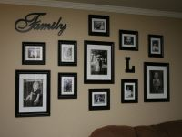 Best 25+ Family collage walls ideas on Pinterest   Living ...